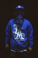 Autumn and winter the west coast hiphop losangels small male pullover sweatshirt