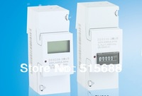 2 module type 65A single phase din rail energy meter