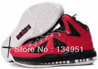 cheap new hot sale fashion sport shoes Lebron Jamess X  10 basketball shoes Basketball Shoes mans size 8-12