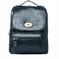 Designer frozen women leather backpacks for teenage girls fashion sport school bag travel bags
