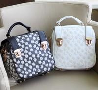 Fashion summer 2013 women's bags lace brief bag shoulder bag vintage handbag  free shipping free shipping