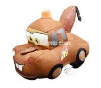 "Pixar Cars Tow Mater Stuffed Plush Toy DOLL 6"" LONG NEW Cute"
