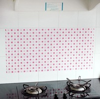 New Arrivals PVC Can be removed DIY oil kitchen ceramic tile-high temperature pollution prevention wall stickers FREE SHIPPING
