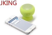 Mushroom Mini Bluetooth Speaker Wireless Hands free Waterproof Silicone Suction Wireless Speaker