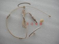Headset -ear johasun professional microphone thread 3.5 plug skin color 4082b