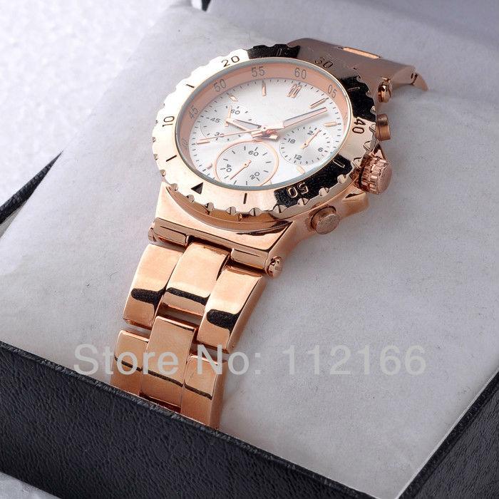 Rose Gold Watch Cheap Slim Rose Gold Tone Watch