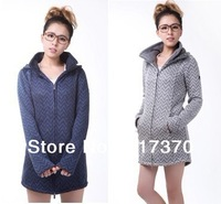 Original Fashion New Bench Women Long Funnel Neck Jacket Fleece Jacket Bench Coat Free Shipping