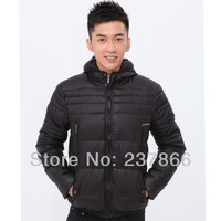 SO HOT!Super Cheap, Black Jacket.LOWEST PRICE!Men's coat WHOLESALE GOOSE DOWN WARM jacket WINTER OVERCOAT