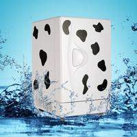 13.8l cow mini refrigerator car refrigerator refrigerated cabinet heating box small refrigerator