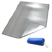 150*200*0.2cm Outdoor double faced aluminum pad moisture-proof pad camping tent mats baby crawling mat