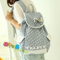 Bag canvas backpack female preppy style school bag students backpack women's handbag bs207