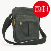 Canvas messenger bag man bag women's handbag small school bag student bag casual bag fashion small bag  simple natural