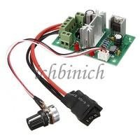 2pcs PWM Reversible DC Converter 6V 12V 24V 6A Controller Switch Motor Speed Module Schalter Kontroller Drehzahlregler New OVP