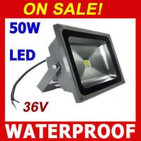 On Sale! 36V LED Flood light 50W waterproof  IP65 Floodlight Cold white / warm white Outdoor Flood lights Landscape Lighting