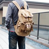 Man bag women's handbag travel bag school bag casual backpack canvas bag backpack 2357