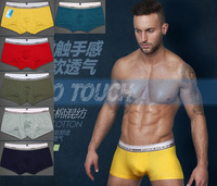 6pcs/lot High Quality  Man Underware /Boxer Briefs/ Man Briefs Sexy Shorts Underpants Mixed color Free shipping by HK POST 1231