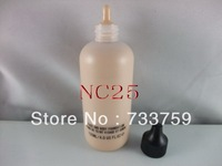 1PCS/lot Free Shipping Brand MC High quality new Face And Body bottle liquid foundation 6 colors NC25 120ml