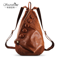women backpack Guaranteed 100% Genuine leather school backpacks desigual women backpack 2014030219E