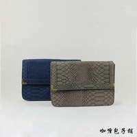 B026 Fashion women's handbag ,serpentine pattern, vintage shaping shoulder bag , lady's PU elegant handbag, free shipping