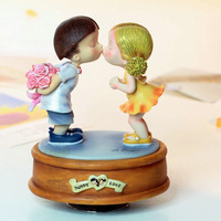 Wsa series rotating music box birthday gift male