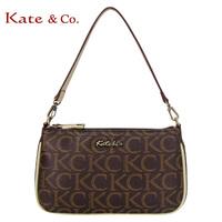 Kate co fashion 2223 classic logo bag women's cross-body handbag women's dinner shoulder bag purse