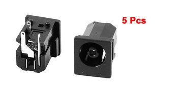 5 Pcs PJ046 DC Power Jack for Fujitsu Siemens Lifebook S2000 S2010 S2020 S5582