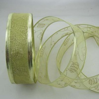 Christmas decoration 5 200cm gold christmas tree decoration ribbon