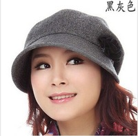 2013 Autumn and winter pure wool women's hat beret painter cap millinery