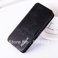Xuenair Oil Wax series High quality Genuine Leather case Wallet style case for Apple iPhone 5C Max Gift
