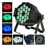 free shipping 5 in 1 18*10w rgbwa par can indoor stage lights
