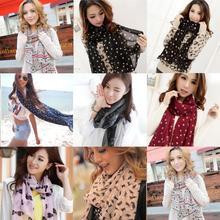 popular leopard scarf