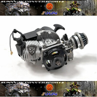 Hot Sell 2 Stroke 1E44-6 Engine for Mini Scooter Crossbike Mini bike  Free Shipping