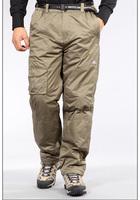 Botack outdoor skiing pants male winter windproof waterproof thickening thermal hiking skiing trousers LMT2-3080