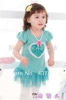 Apparel Accessories  Girls Dresses summer baby dress flower dress lining cotton kids dress children clothing