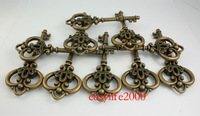 15pcs/lot 84mm  OLD Look Antique Skeleton Vintage Steampunk keys Assorted Styles Wedding Favor Gifts