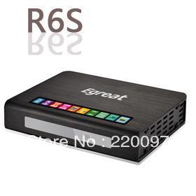 Egreat R6s Android HDD Media Player with 3D Blu-Ray ISO Full HD 1080p HDMI 1.4 Realtek 1186 convert 2D all image to 3D(China (Mainland))