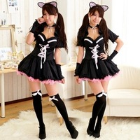 cat costume anime Maid cat ladies / cat girl role playing uniform party / ds costumes witch dress cosplay costume