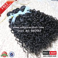 Mike & Mary Malaysian Virgin Hair Deep Curly 4pcs/lot Alibaba Express Top Quality Unprocessed Human Virgin Hair Natural 1b