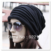 Free shipping Hat female autumn and winter knitted male winter pocket cap hat