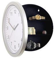 Clock Safe Hidden Storage Box,  safe cabinet Jewelry Storage Box Case conceal Holder Watch+ Novelty Wall Clock + Freeshipping !