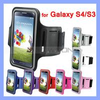 Colorful Sport Armband for Samsung Galaxy i9500 i9300 S3 S4 i9500 Armband Case