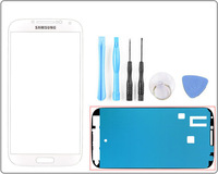 for Samsung Galaxy S4 IV i9500 Replacement Outer Touch Screen Digitizer Glass--White