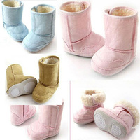 free shipping Baby boots toddler boots baby snow boots high boots child cotton-padded shoes soft outsole toddler shoes
