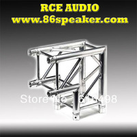 stage light truss corner,4-point Truss corner element 90 degree vertical, aluminum alloy truss cube