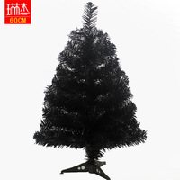 Christmas tree decoration Christmas 60cm black christmas tree christmas decoration gift  free shipping wholesale