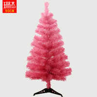 Christmas 90cm pink christmas tree christmas tree small desk multicolour christmas tree  free shipping wholesale retail