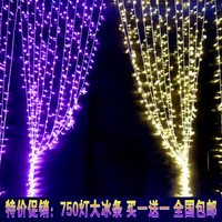 2m x 3m LED Giant Net Fairy light for Christmas wedding party Curtain oanament--White