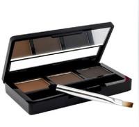 High Quality Water proof  Tutu three-color chocolate eyebrow  shadow powder  Enhancer ,Free Shipping