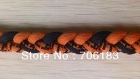 Triple Braid Titanium Sports Necklace, Rust Color  100pcs/lot, Free Shipping