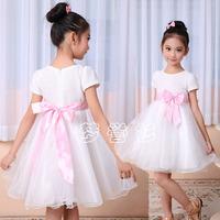 Female child dress princess dress snow white piano clothes